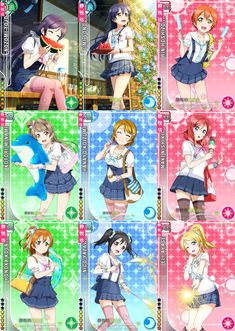 Marine (Before)| Love Live! School Idol Project