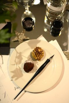 Getting festive with The White Company - a fun calligraphy evening with ideas on how to prep for Christmas and Holiday wrapping and gifting - more ideas on the blog http://loblerdelaney.co.uk/getting-festive-with-the-white-company