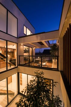 Courtyard Design, Courtyard House, Concept Models Architecture, Interior Architecture, Interior Garden, Wooden House, Japanese House, House Goals, My Dream Home