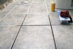 Taking Grout from Dark and Dingy to White and Bright | Chris Loves Julia