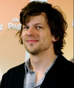 Jesse Eisenberg! What a hottie!