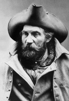 Harry Yount, first gamekeeper of Yellowstone National Park, early 20th century