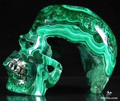 While not really in the style, it is beautiful Minerals And Gemstones, Rocks And Minerals, Crane, Gothic Furniture, Human Skull, Crystal Skull, Rocks And Gems, Skull And Bones, Skull Art
