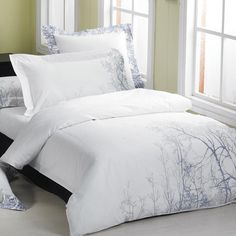 Coventry Stroll Embroidered King-size 3-piece Duvet Cover Set
