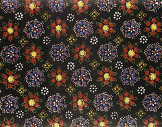 Staphorst - Typical fabric, this one would be for out of mourning.