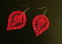 I want these earrings so bad! I need to learn to crochet! Pineapple Earrings *Edited to Include Pattern* - CROCHET