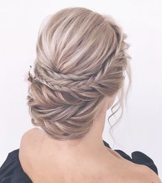 50 cool hairstyles for wedding ideas in winter - Wedding Hairstyles Bride Hairstyles For Long Hair, Smart Hairstyles, Different Hairstyles, Wedding Hairstyles, Braid Hairstyles, Winter Hairstyles, Winter Wedding Hair, Short Wedding Hair, Wedding Hair Down