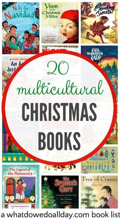 20 enjoyable multicultural Christmas books for kids. Diverse picture books that will resonate with all families. From @momandkiddo