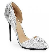 L.A.M.B. -Warner Metallic Leather Pumps - By Savio was $175.00 (You save $120.00) #designershoes #bysavio #trendy #chic #highheels