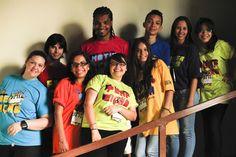 Sou jovem! Sou Brasil! Sou SuperAção! Esse é o time de formadores jovens que comandaram, juntos com o time de agentes técnicos, as oficinas da etapa estadual do Circuito de Juventude 2011! :)