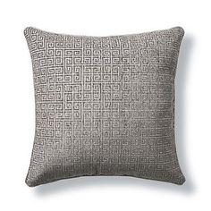Suri Greek Key Decorative Pillow
