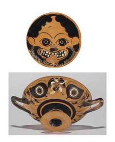 Attic black-figured eye-cup, circa 520-500 B.C.