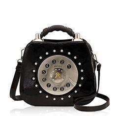 DARLING'S Amliya Telephone Fashion Design Handbag Shoulder Bag Black Darling's http://www.amazon.com/dp/B00OAH43MU/ref=cm_sw_r_pi_dp_XwYfwb0KMZCSW