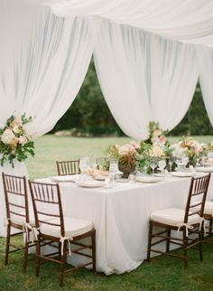Dreamy garden wedding: http://www.stylemepretty.com/2015/03/05/dreamy-summer-garden-afternoon-wedding/ | Photography: Megan Sorel - http://megansorel.com/