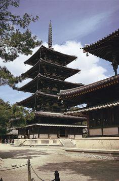 Hōryū Temple: pagoda -- Britannica Online Encyclopedia