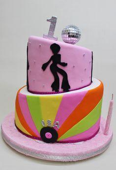 Disco Cake by Violeta Glace