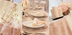 Hochzeit im Vintage-Stil mit viel Spitze