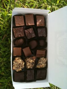 Chilmark Chocolates! The best chocolates and you can only get them on Martha's Vineyard!
