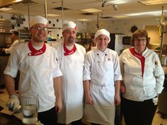 Some guest chefs who volunteer at Kids Cafe