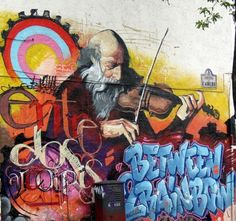 Street art in Spain (unknown artists), awesome urban art, world graffiti, street art, free walls, street artists, urban artists