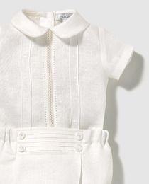 Conjunto de bebé niño Dulces en blanco Conjuntos Niño 05b357131a3