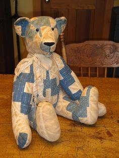 Teddy Bears Stuffed Quilted Etc On Pinterest Antique