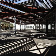 Between constructivist lines, Photo by Serge Najjar Urban Landscape, Landscape Design, Serge Najjar, Design A Space, Shade Structure, Public Spaces, Landscape Architecture, Pavilion, Shelter