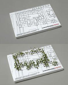 Amazing Business Card Concept for a Landscape Architect
