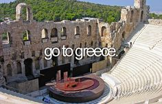 Esp. the Greek Isles!