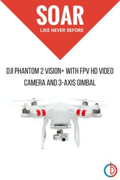 The Phantom 2 Vision+ from DJI brings ready-to-fly into the professional realm. What will you capture with your Phantom 2 Vision+?  Shop now at www.buydig.com!