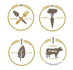 #Logo sub-marks for labels and stamps by Image Conscious Studios