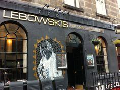 The Big Lebowskis Pub - Edinburgh Scotland.