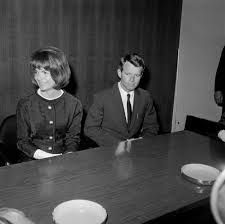Image result for jackie and bobby kennedy