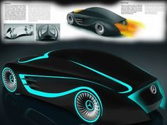 Mercedes Benz Sports Cars Concept Blackbird Tron Legacy - Sport Cars And The Concept