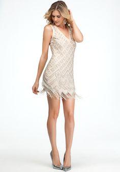 bebe | Embellished Flapper Dress - View All