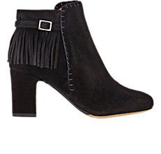 Tabitha Simmons Fringed Surrey Ankle Boots