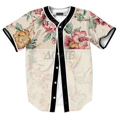 US size Fashion Jerseys Baseball Shirts Men Women Unisex Print Clothes Vintage Flower Dope Top baseball cards Mens Jersey Shirts, Cheap Mens Shirts, Mens Printed Shirts, Baseball Shirts, Casual Shirts For Men, Cool Shirts, Men's Shirts, Sports Shirts, Baseball Cards