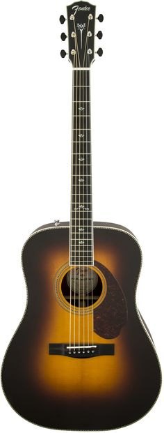 Fender PM-1 Paramount Deluxe Dreadnought Acoustic Electric Guitar
