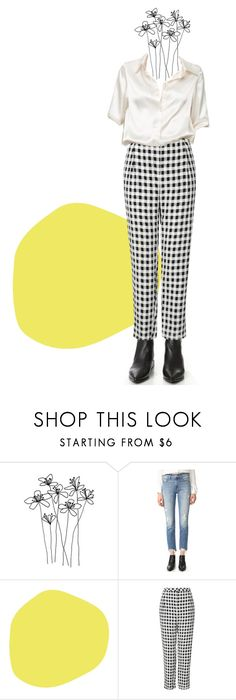 """""""the pantaloon //"""" by yvism ❤ liked on Polyvore featuring Mother, Topshop and Brandy Melville"""