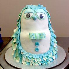 TRB Student Cake - Cute Owl Class
