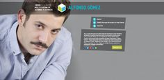 Actor ALFONSO GÓMEZ