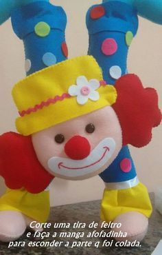 Personagens do Circo com moldes