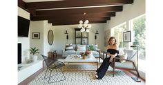 Actress and California native Sophia Bush has a passion for her home  state's design history. So when she found herself with a piece of it—a  classic midcentury guest cottage adjacent to her Hollywood Hills house— she turned to The Studio at One Kings Lane to help play up its character.  Step inside, see how the space came together, and shop the airy, inviting look.