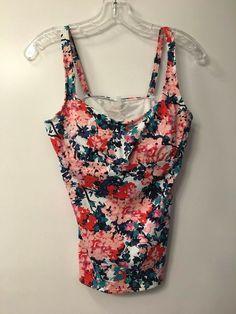 04d282935d Lands End Multi-Color Two-Piece Bathing Suit  fashion  clothing  shoes.  Suit FashionTwo PiecesTank TopsClothes ...