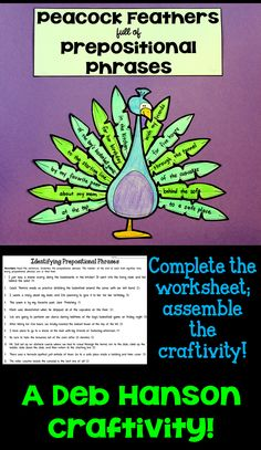 Check out this FUN prepositional phrases activity!
