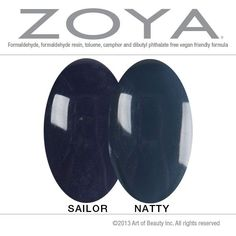Zoya Sailor vs Natty | 1000+ images about Color Comparisons on Pinterest