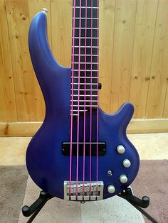 plus.google.comCort Curbow 5 Pink String Bass