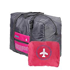 Price:    Passionate Adventure Foldable Large Capacity Travel Bag Portable Luggage Bag! These bags are one of our most popular and make a great general-purpose cargo bag or carryall. Fold to a small bag, unfold for travel camping, sports gear or gym, can be attach on the handle of suitcase to...