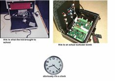 This Meme Nails What the Media Won't Tell You About the Digital Clock That Caused a Muslim Student to Get Arrested