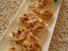 豆腐のツナ味噌焼きの画像